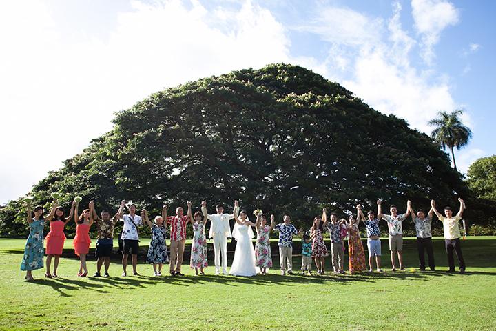 ハワイ モアナルアガーデンウェディング5