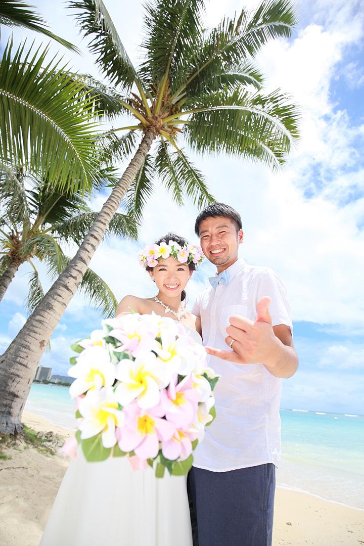 オリジナル,自分達らしい,リノハワイウェディングお客様の声,ハワイ婚,