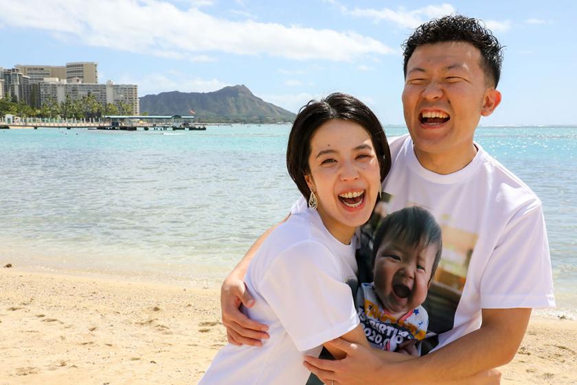 ファミリーフォト,1歳記念,ハワイ婚,ハワイウェディング,ハワイ出張フォト,撮影,お客様の声