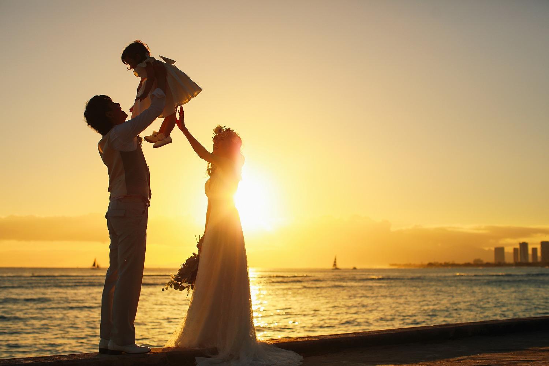 カピオラニ公園,サンセットフォト,ハワイ婚,ハワイウェディング,ハワイ出張フォト,撮影,お客様の声