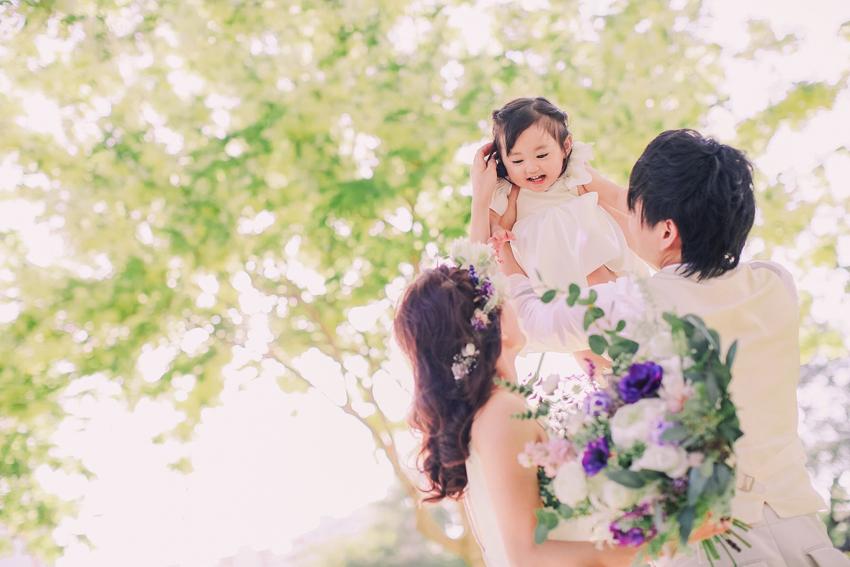 パパママウェディング,子連れハワイ結婚式,ハワイウェディング,リノハワイ