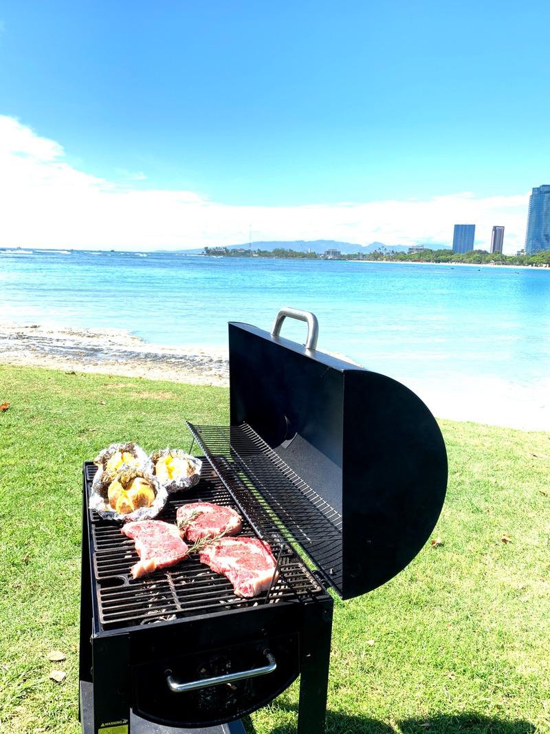 ワイキキ,BBQ,カジュアルウェディング,ハワイ婚,リノハワイ