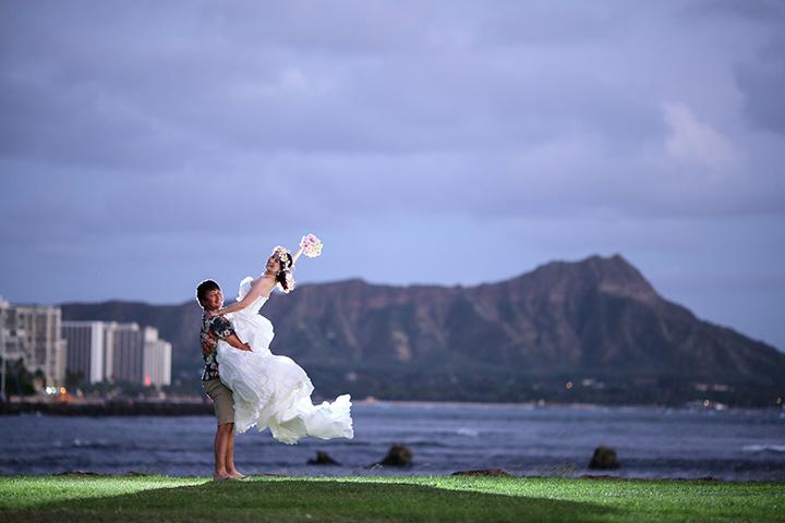 ハワイウェディング,時間がない,リノハワイ,ハワイ婚,ハワイ挙式,フォトウェディングお客様の声